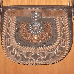 NEW Montana West Embroidered Crossbody Purse